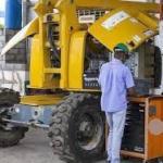 Manutenção plataforma elevatória