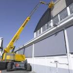 Treinamento para operação de plataforma elevatória