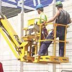 Treinamento de plataforma elevatória